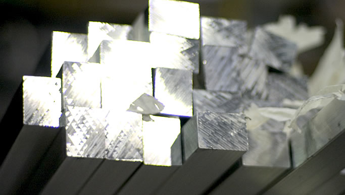 Stainless Steel Shapes Stock.